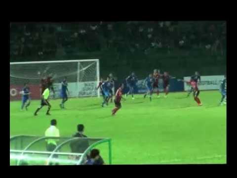 Malaysian Super League (Sarawak vs Lion XII FC) - Miss Hand Ball