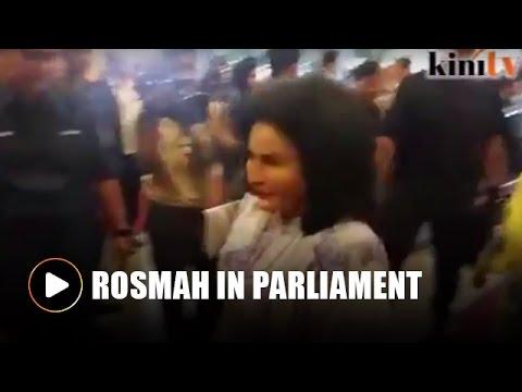 Rosmah in Parliament for Budget 2017 speech