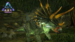強力な角を持つ恐竜「トリケラトプス」を捕まえる! - ARK Aberration ゆっくり実況#2