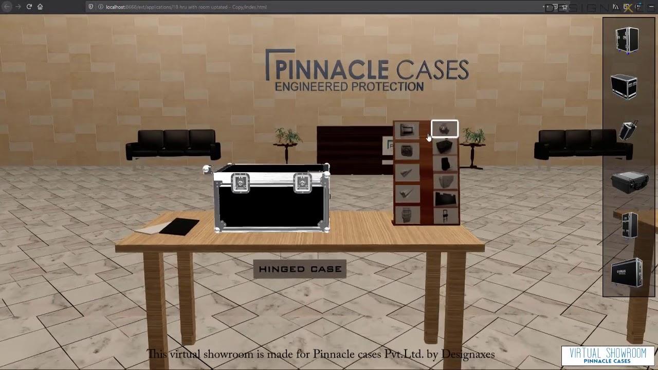 Virtual showroom by Designaxes