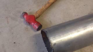 DIY Exhaust Build 7.3 Powerstroke