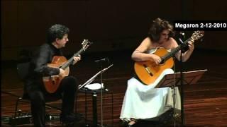 Paul Simon - The Boxer -ATHENS MEGARON LIVE - Classical Guitars - Evangelos Boudounis - Maro Razi
