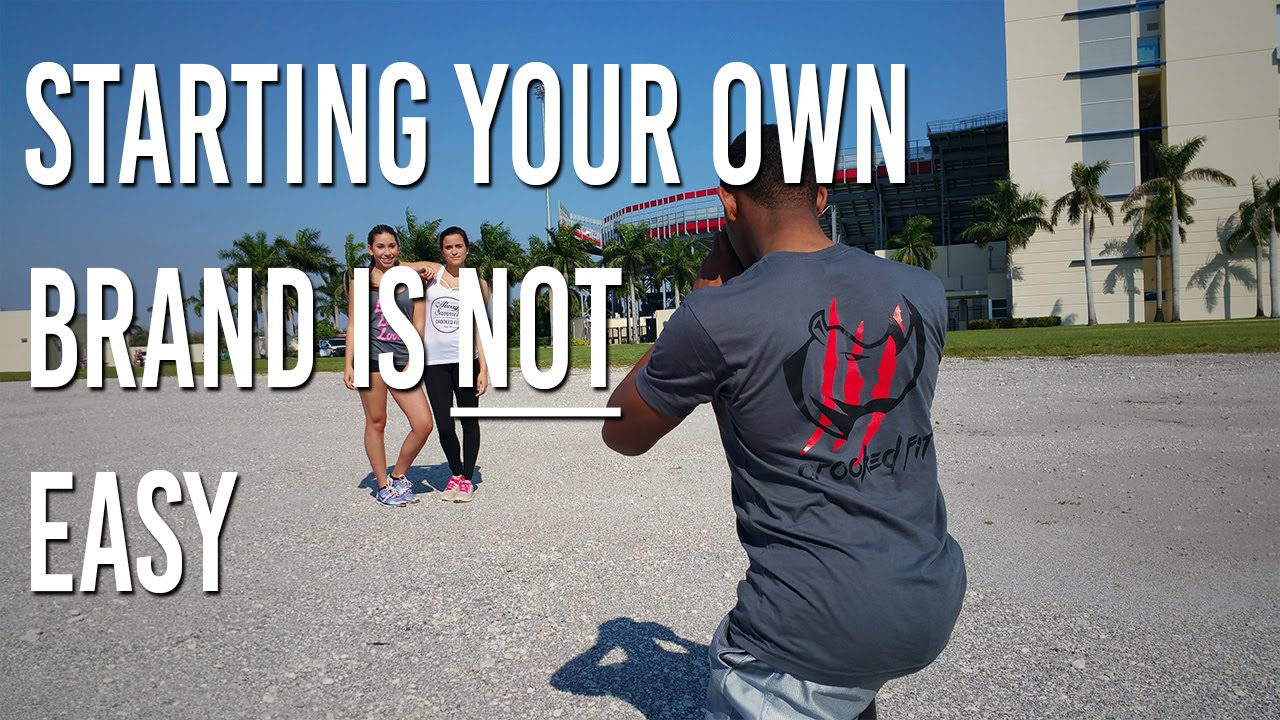 Starting Your Own Clothing Brand Is Not Easy Crooked Fit Apparel Youtube