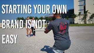 Starting Your Own Clothing Brand is NOT Easy   Crooked Fit Apparel