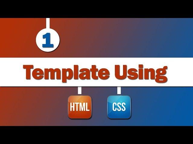 Design Template Using ( HTML - CSS )