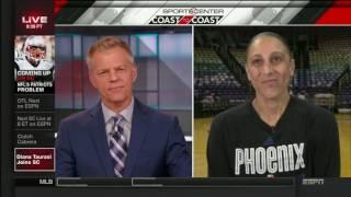 Diana Taurasi Interviewed on SportsCenter!