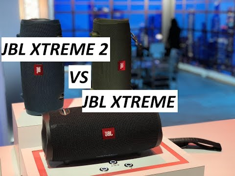 JBL Xtreme 2 VS JBL XTREME
