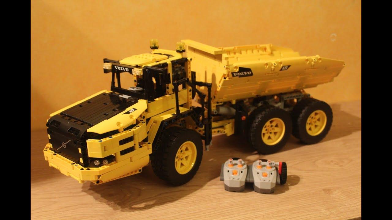 lego technic dumper truck mod 42030 youtube. Black Bedroom Furniture Sets. Home Design Ideas