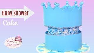 BABY SHOWER 👶🏻 Cake I Fault Line Motivtorte I Nicoles Zuckerwerk