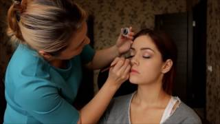 Дневной макияж. Дневной макияж для брюнеток с карими глазами. Юлия Ковалева