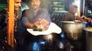 Indian Bread Making on Pot #PotRoti