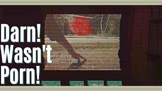 Vintage porn or evil video tape? DARN!