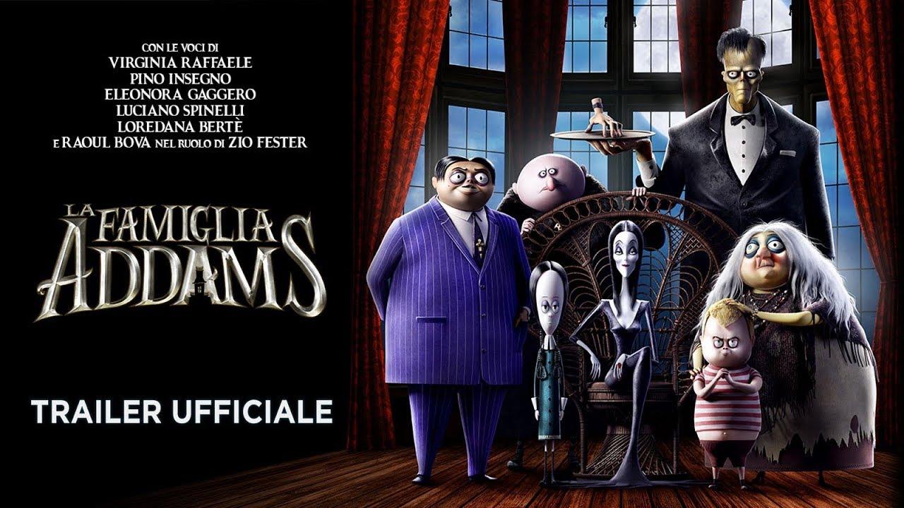 La Famiglia Addams Teaser Trailer Italiano Ufficiale Hd Youtube