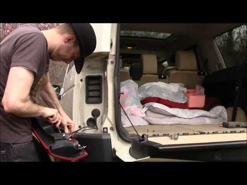 Tow Trailer Harness install on Land Rover LR3