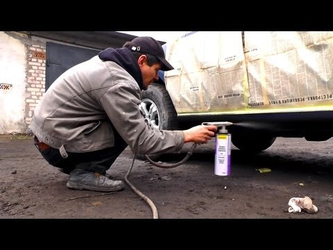 На что хватает одного баллончика жидкой резины Rubber Paint - YouTube