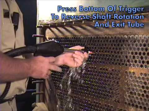 Condenser Chiller Tube Cleaner Goodway Youtube