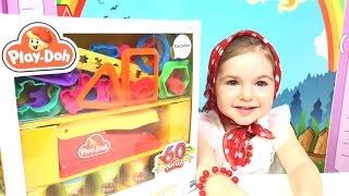 Эксклюзивный Play-Doh!  Лепим цветы и животных! Exclusive Play-Doh! We do flowers and animals!