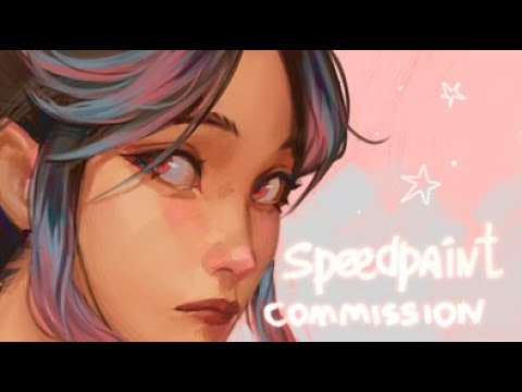 Commission ✪  Speedpaint (Paint Tool SAI)