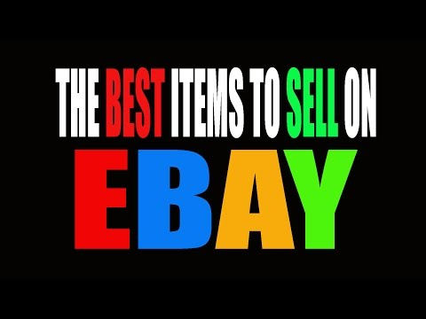 HOW TO FIND THE BEST SELLING ITEMS ON EBAY
