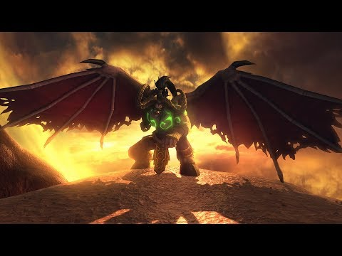 The Black Temple Remastered (World of Warcraft Cinematic)