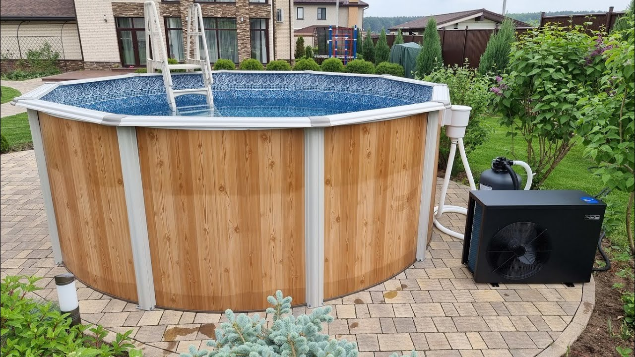 Инверторный тепловой насос Fairland - экономичный нагреватель воды для каркасного бассейна