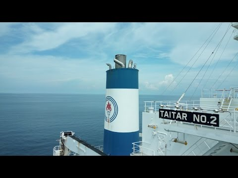 Merchant Navy - Life at Sea .. On-board 'LNG Carrier Taitar No 2'