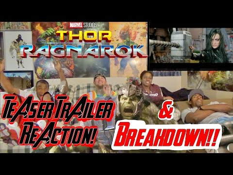 Thor: Ragnarok Teaser Trailer Reaction & Shot By Shot Breakdown!