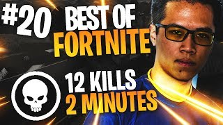 BEST OF FORTNITE FR #20 ►KINSTAAR 12 KILLS EN 2 MINUTES !!