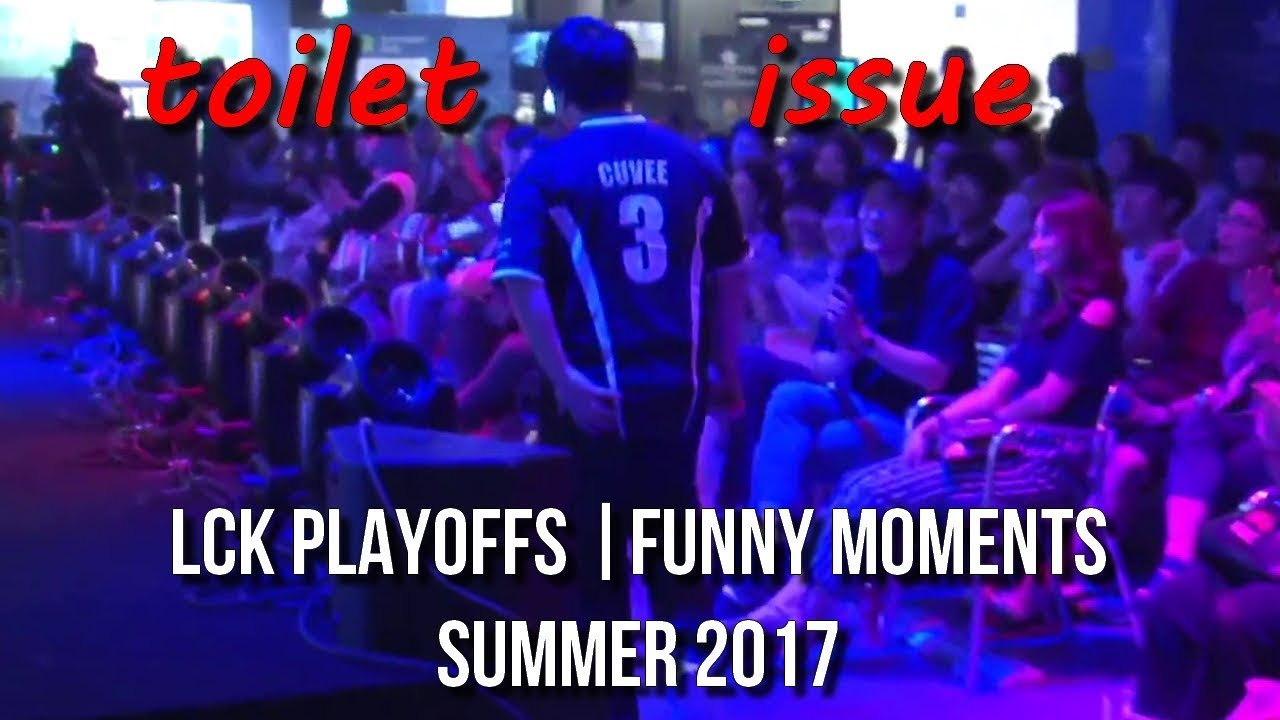 LCK PLAYOFFS | FUNNY/FAIL MOMENTS   2017 Summer time cut up