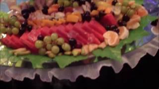 """""""השולחן המרקד"""" פירות ומתוקים  - בת מצווה"""