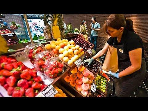 El Mercado de San Antón, referente gastronómico de Madrid