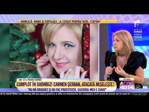 """Carmen Șerban are interzis în SUA: """"Cineva a făcut denunț împotriva mea!"""""""