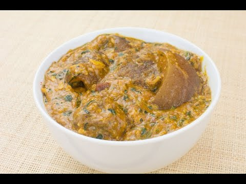 Nigerian Ogbono Stew - Chef Lola's Kitchen
