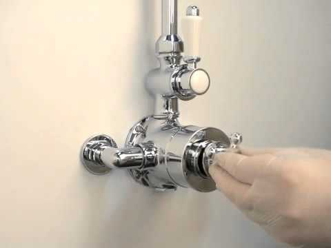 Hudson Reed USA Twin/Triple Type Shower Calibration - YouTube