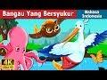 Bangau Yang Bersyukur   The Grateful Crane Story in Indonesian   Dongeng Bahasa Indonesia