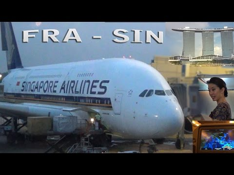 NEW Trip Report: SQ25 Frankfurt to Singapore with Airbus A380