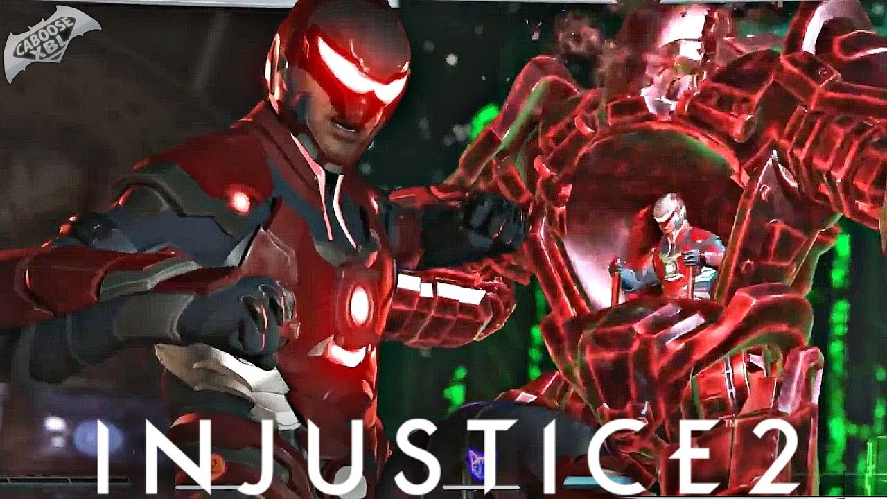 injustice 2 red lantern gameplay first look 1080p 60fps hd