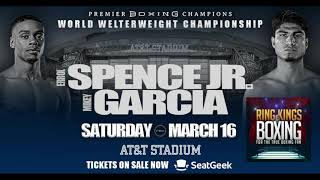 Ring King Boxing #321 GARCIA VS SPENCE, TANK DAVIS VS RUIZ, SHIELDS VS HAMMER & MORE