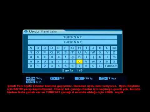 JS 2004 2005 Uydu Alıcılar Uydu Ekleme Kanal Tarama