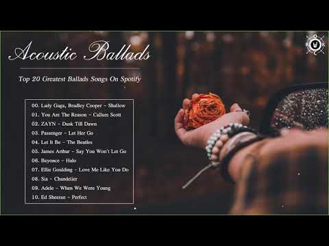 acoustic-ballads-collection- -top-20-greatest-ballads-songs-on-spotify
