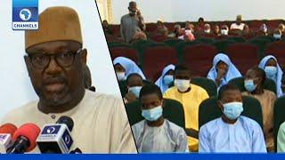Niger Abduction: Gov Bello Meets Freed Kagara Victims