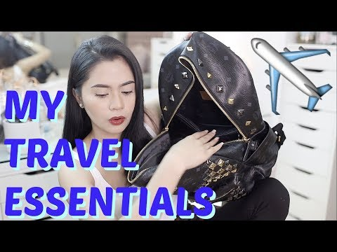 TRAVEL ESSENTIALS: What's In My Carry-On/Plane Luggage?  | Anna Cay ♥