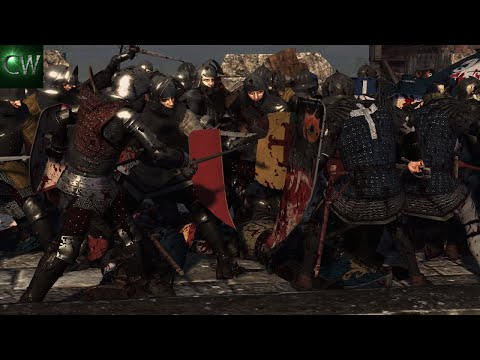 THE FALL OF LONDON! 2v2 Medieval Kingdoms 1212 Battle (Siege)