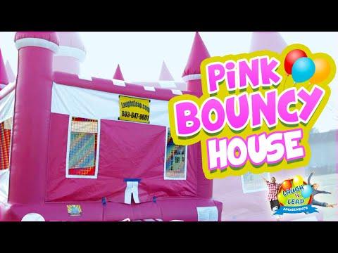 Girl Bouncy Castle - Queen's Castle for Girl Parties - Ruslar.Biz