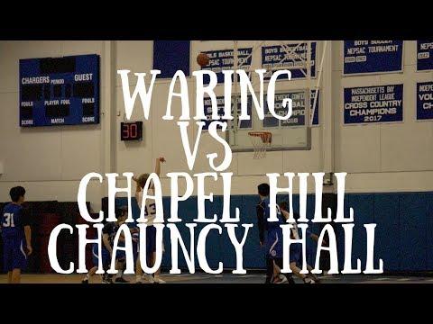 Waring Vs Chapel Hill Chauncy Hall // 2018 - Sony A6300