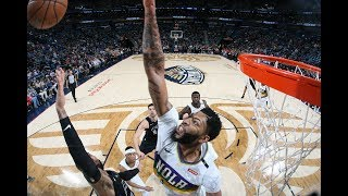 Anthony Davis Top Best Blocks From 2018-2019 Season