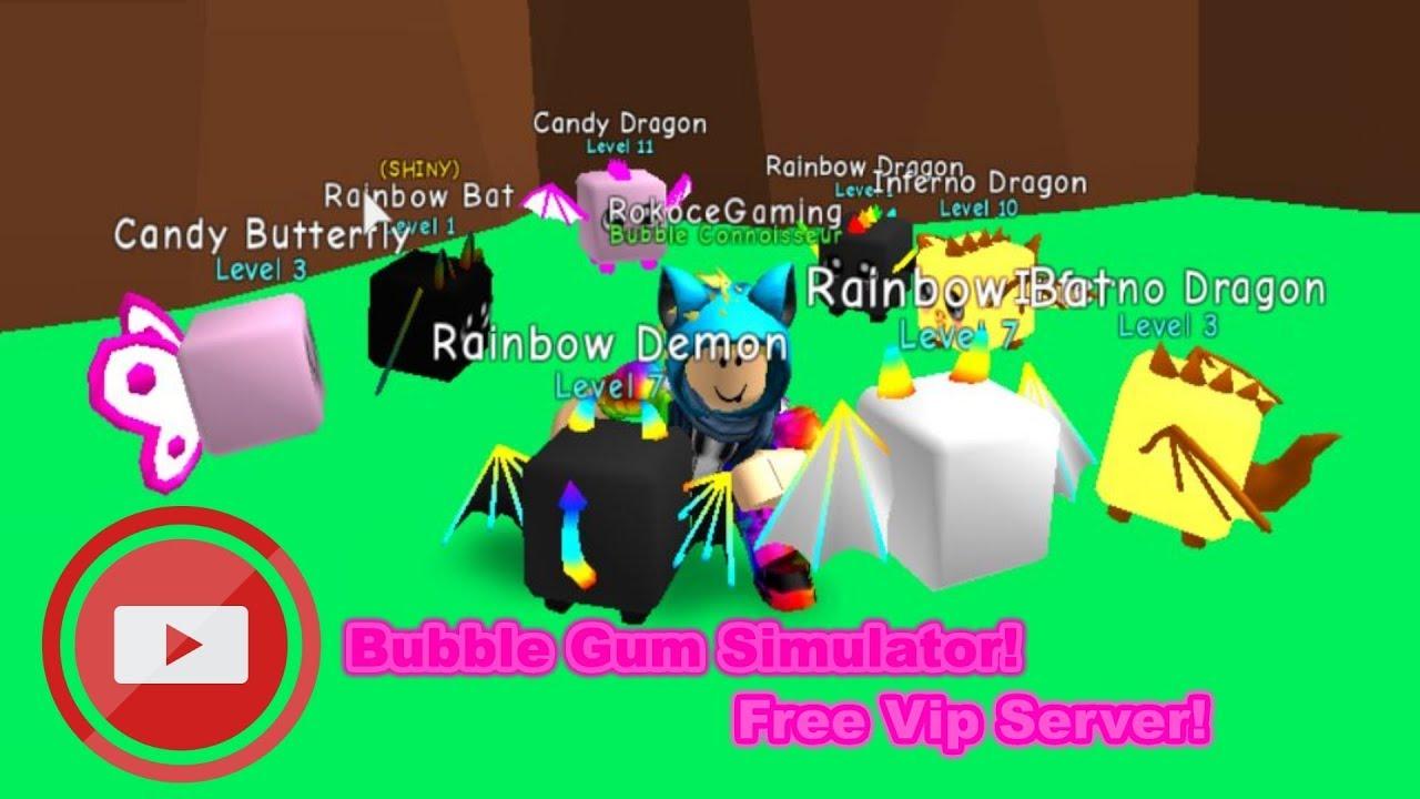 🔴Roblox BubbleGum Simulator Free Vip Server!!🔴