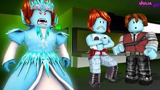 Roblox - JULIA RAINHA DO GELO (Destroy The Snow Queen)