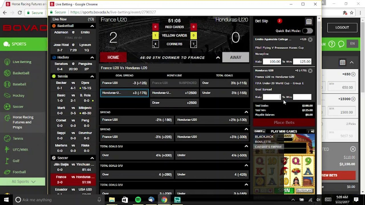 How To Cancel A Bet On Bovada
