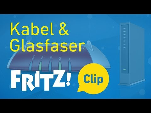 FRITZ! Clip – Ins Internet per Kabel-  oder Glasfasermodem